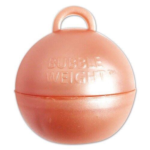 Or Rose bulle plastique ballon poids AnniversaireFêteAnniversaireMariage
