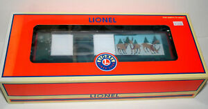 Lionel-Trains-Reindeer-Jumping-Boxcar-Car-2006-6-36805-New-NOS-Box-Unopened