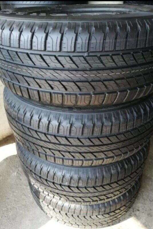 265/65/17 Goodyear Wrangler Hp all weather brand new set for R5999.