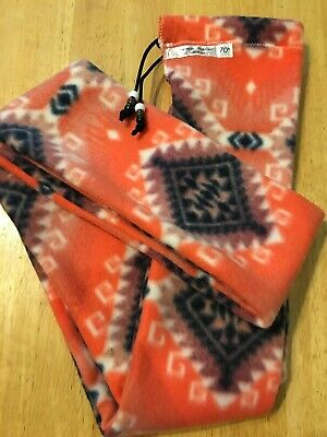"Bright Aztec Fleece Traditional Archery Longbow BowSock Sleeve 72/"" x 4/"""
