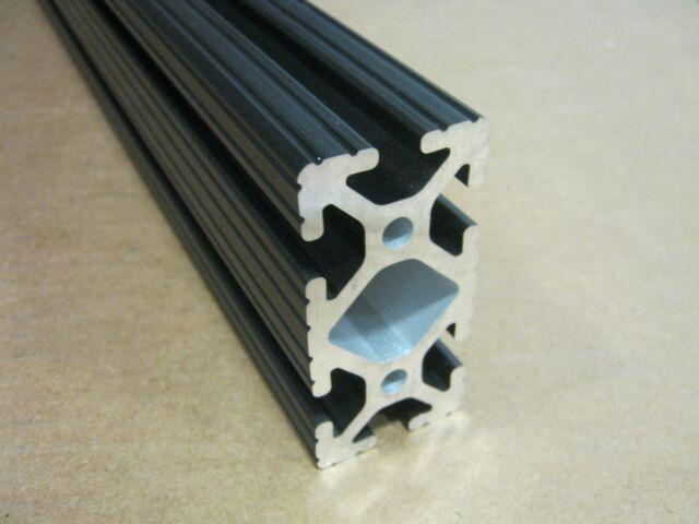 8020 Inc 3 x 3 T-Slot Aluminum Extrusion 15 Series 3030 x 48 Black H1-3