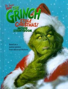 How The Grinch Stole Christmas Movie.How The Grinch Stole Christmas Movie Storybook By Louise Gikow And Dr Seuss 2000 Hardcover
