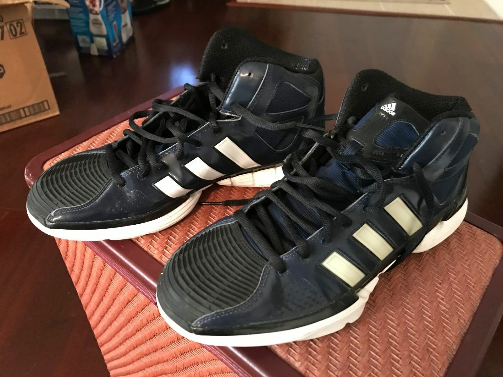 ADIDAS - NAVY BLUE AND WHITE