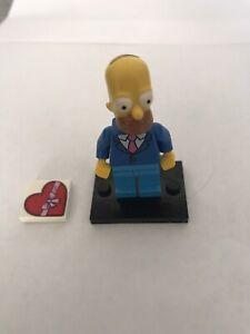 71009-1 SIM028 RBB LEGO Simpsons Mini Figure Series 2 Homer Simpson