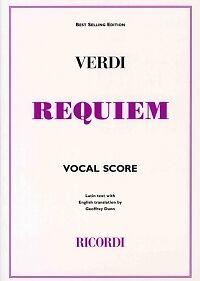 Able Verdi Requiem Latin/english Vocal Score More Discounts Surprises Musical Instruments & Gear