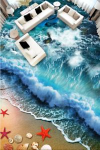 3D Surf Beach Shell 783 Floor WallPaper Murals Wall Print Decal AJ WALLPAPER US