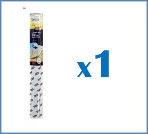 Mousse de tirant chasse-projet de protection exitex sous porte double réglable gris
