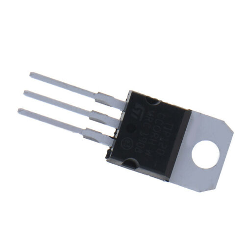 10 PCS TIP120 Darlington complementary silicon power transistor in-line TO-2JO