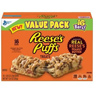 Reese-039-s-Puffs-Treat-Bars-16-Count-0-85-Oz-3-Pack
