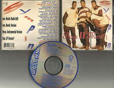 BOYZ II MEN Sympin 4TRX REMIX & EDIT & INSTRUMENTAL  CD Single USA 1992 boys