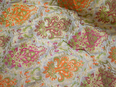 Wedding Dress fabric dress material silk cotton brocade for crafting Fabric