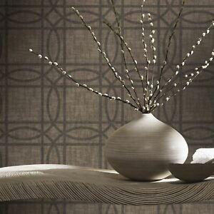 Arthouse-903306-Taupe-Bronze-Kiss-Papier-Alu-Peint-Geometrique-Metalique