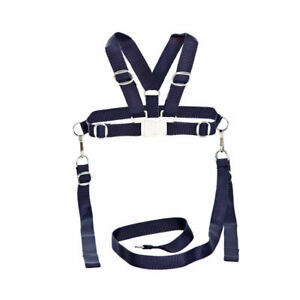 HARNESS REINS For SILVER CROSS COACH BUILT BABY PRAM With Metal Clips 4 Colours