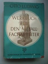 Werkbuch für den Metallfacharbeiter 1957 Metallgewerbe