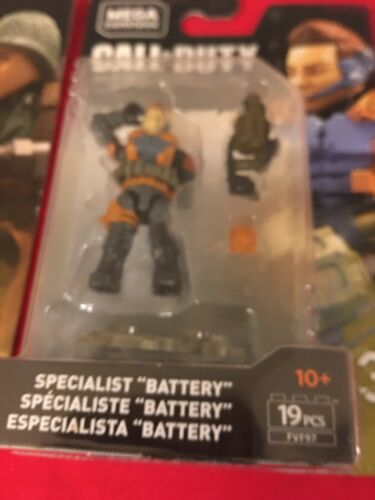 Mega Construx Call Of Duty Specialists Series 3 Complete Set Of 6
