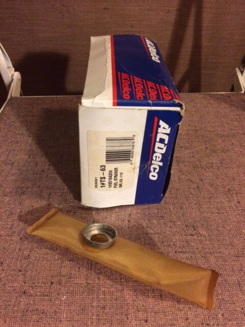AC Delco Fuel Pump Strainer Gas New for Chevy De Ville Suburban Express Van TS7