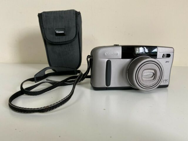 Canon Sure Shot Z135 35mm Compact Film Camera + Carry Case  - Tested Working GC