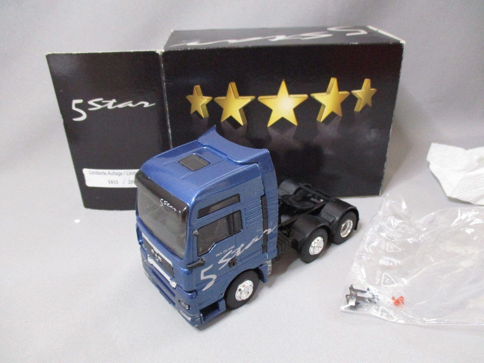 Dv8128 eligor 1 43 man tg xxl tractor 26.530 5 star 6x2 blueee 112922