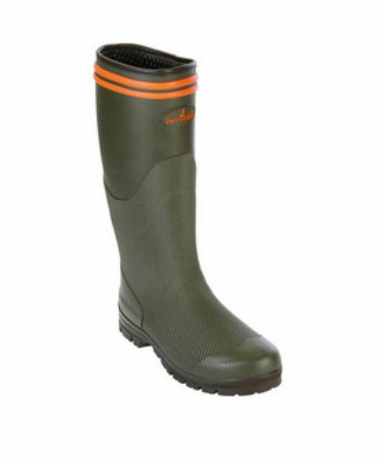 Percussion 1746 Stronger Hunting Boots - Green - (Shooting Countrylife)