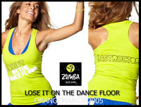 Zumba Instructor Racerback Top Tank-lose It On The Dance Floor-elitezwear S M L