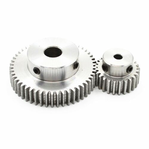 5 to 15mm Hole Dia Drive Gearbox 1 Modulus Metal Spur Gear 15 to 60 Teeth
