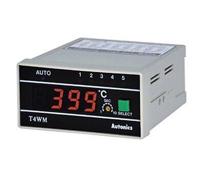 New Multi Channel/Point Temperature Measurement Indicator AUTONICS T4WM-N3NKCC