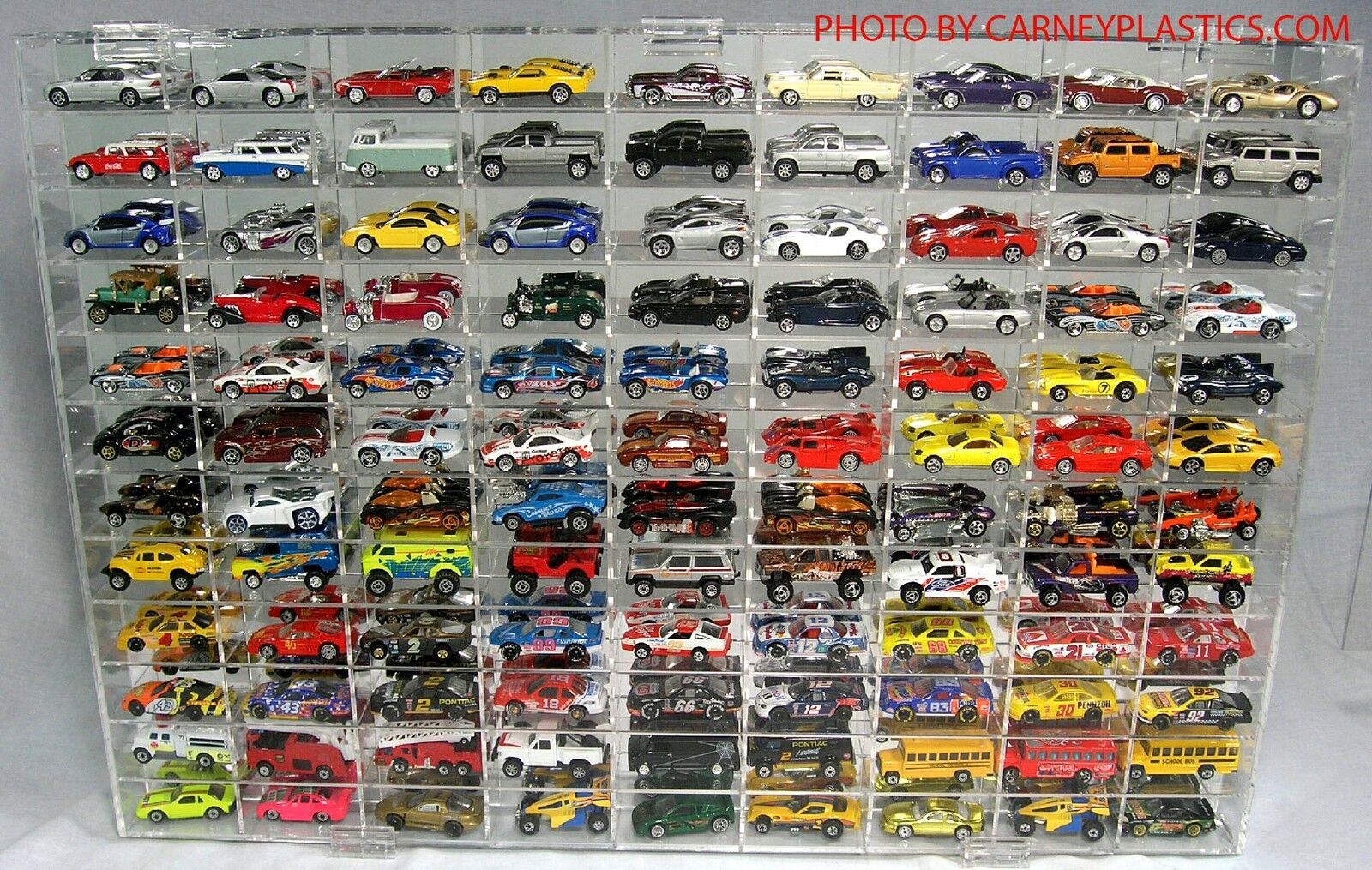 Matchbox Diecast Display Case 108 COMP 1 64 scale