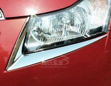 110- CZR Cruze Chevrolet Chrome Trim Headlight Full Eyebrow Exact Fit (Set 2)