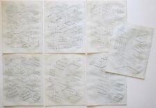 1797 7x Antique Prints Naval Tactics Fleet Operations +  1797 Original Article
