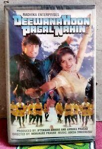 DEEWANA HOON PAGAL NAHIN Bollywood Indian Audio Cassette Tape MIL -Not CD
