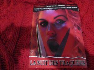"""DVD NEUF """"LA NUIT DES TRAQUEES"""" Brigitte LAHAIE / film d'horreur de Jean ROLLIN"""