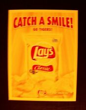 2006 Lays Classic Potato Chips Snack Bag~Go Tigers~Baseball Promo Trade Print AD