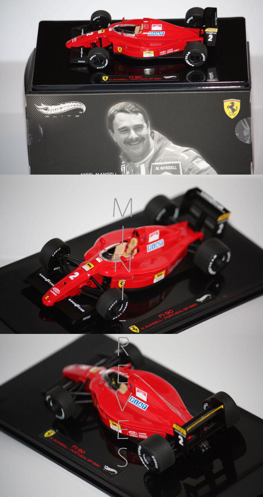 Hotwtalons  Elite F1 Ferrari F1-90 N. Mansell 1990 1 43 X5519  centre commercial professionnel intégré en ligne