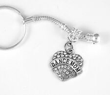 Dance mom key chain  Ballet mom keychain Jazz mom gift Dance ma Key chain gift