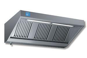 Edelstahl-Wandhaube-Abzugshaube-300-x-90-cm-mit-Motor-Regler-u-LED-Beleuchtung