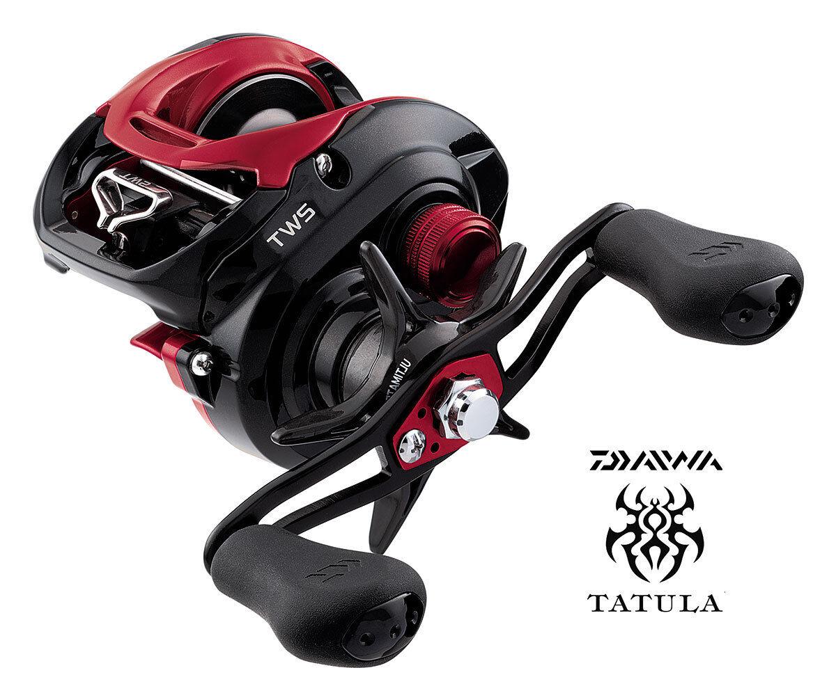 Daiwa Tatula CT Type R 8.1 1 Hyper Speed Left Hand Baitcasting Reel TACT-R100XSL
