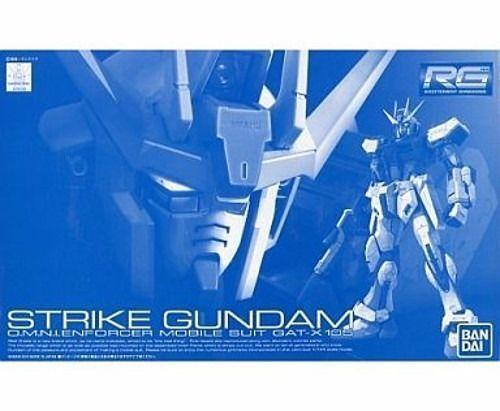 BANDAI RG 1 144 GAT-X105 STRIKE Gundam Model Kit Gundam SEED NEW from Japan