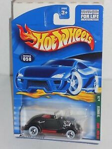 Hot-Wheels-Rat-Rods-Series-039-33-Roadster-NIP-Mattel-NIB-No-2-4-2001