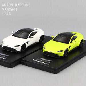 1-43-Escala-Resina-Vantage-Aston-Martin-Cal-Essense-amp-Vantage-Modelo-Automovil-Blanco