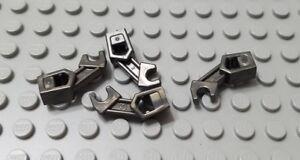 Lego mini figure 4 Pearl Dark Gray droid arms NEW