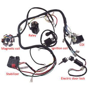 s-l300 Qiye Atv Cc Wiring Harness on quad parts, mini dirt bike, pit bike, coolster atv, 200cc gear, 110cc motor, mini chopper, 4 wheeler parts, 150cc four wheeler,
