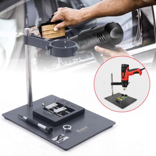 Platform Soldering Fixture 360°  Hot Air Heat Gun Fixture Bracket Airsoft Mount