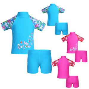 Kids-Girls-Boys-UV-50-Sun-Protection-Surfing-Bathing-Swimwear-Swimming-Costume