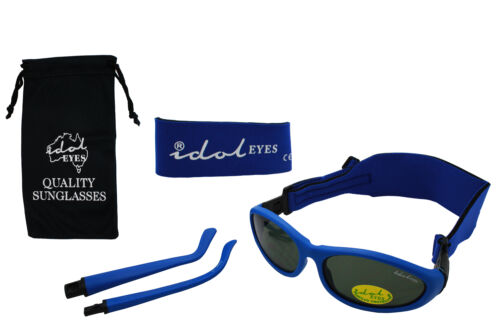 Baby Wrapz 2 Convertible Sunglasses 0-5 Years With 2 Headbands /& Attachable Arms