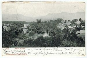 Weld-Maine-Landscape-of-Houses-on-hills-Undivided-to-CT-1907-PC