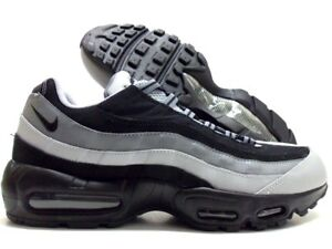 the latest 1d920 6becb Image is loading NIKE-AIR-MAX-95-ESSENTIAL-BLACK-WOLF-GREY-