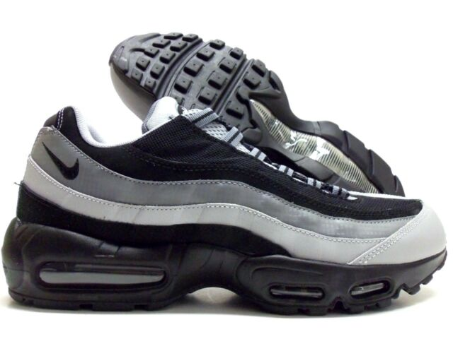 8dbd0e0047 Nike Air Max 95 Essential Running Mens Shoes Black Grey 749766-005 13. +.  $149.99Brand New