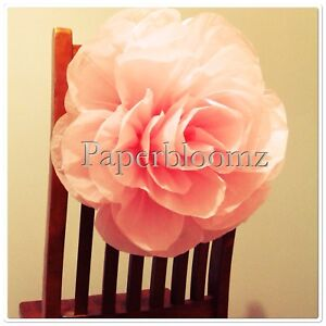 Paperbloomz large pink paper roses x 5 bulk tissue paper flowers image is loading paperbloomz large pink paper roses x 5 bulk mightylinksfo