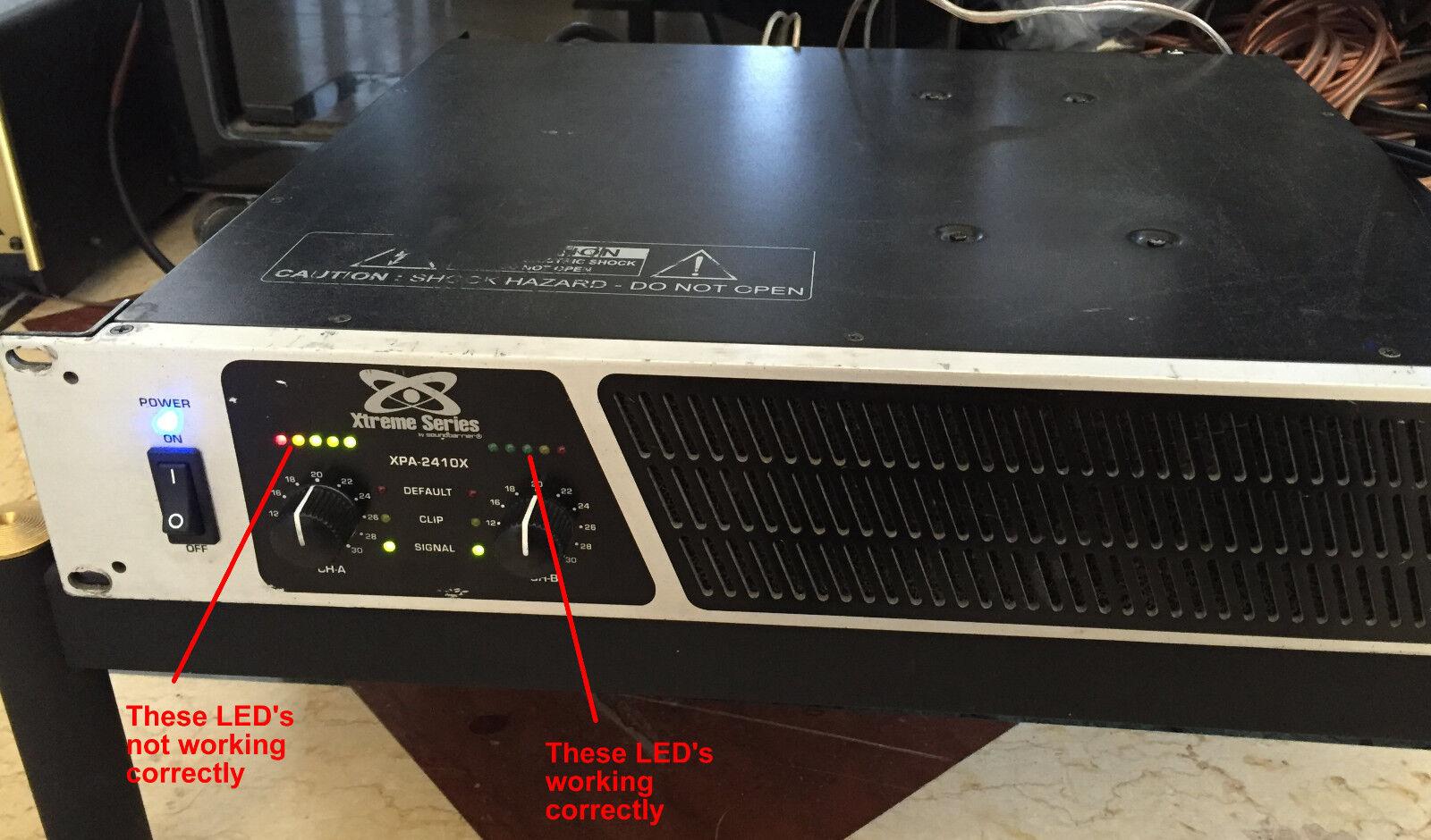 Xtreme Series by Soundbarrier Model XPA-2410x Professional Amplifier
