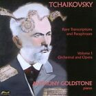 Tchaikovsky: Rare Transcriptions and Paraphrases, Vol. 1: Orchestral and Opera (CD, Jul-2012, Divine Art)